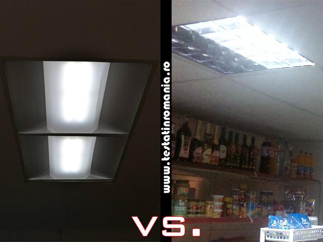 Corp iluminat cu led casetat