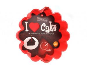 Forma pentru tort cu contur inima