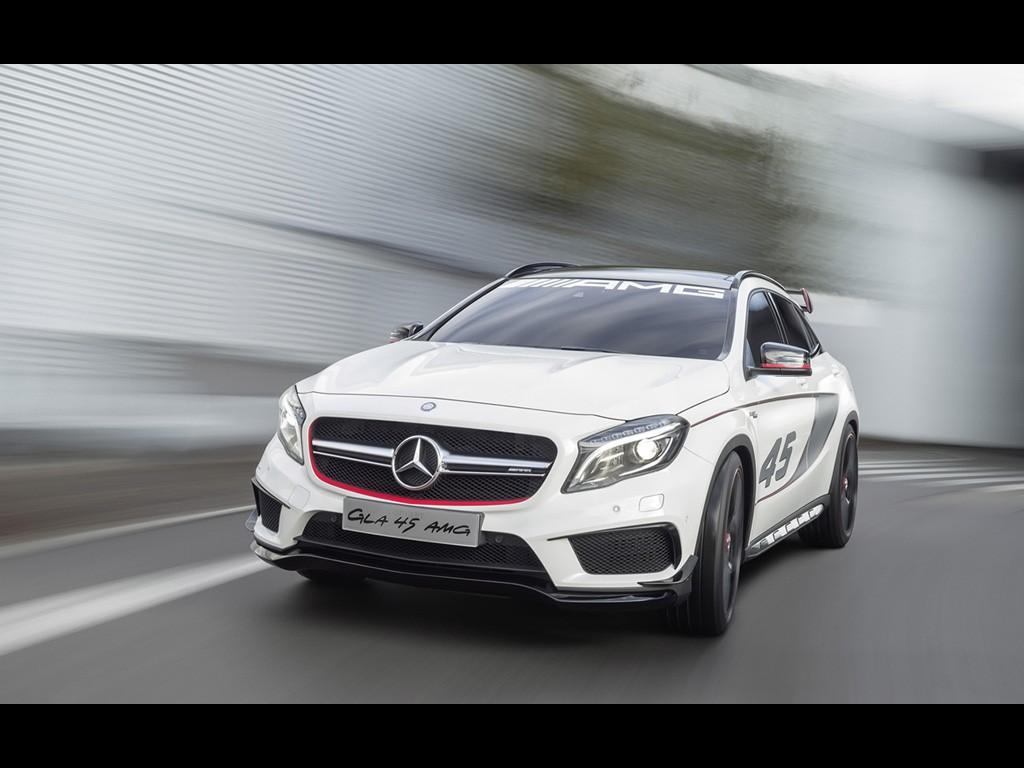 Mercedes-Benz Concept GLA 45 AMG 2013