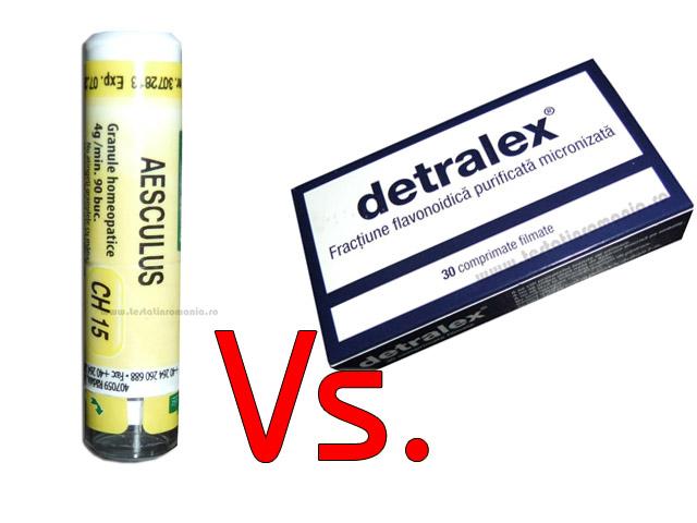 Aesculus vs Detralex