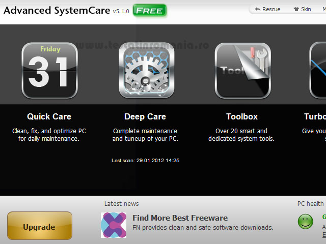 6. Advanced SystemCare Free
