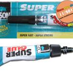 """Bison Super Glue – adezivul care """"sudeaza"""" obiectele rupte"""
