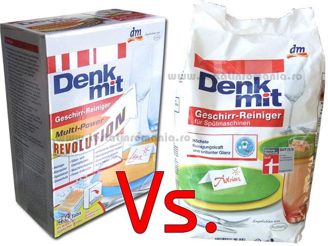 Denkmit pastile Multi-Power vs. Denkmit praf – 2kg
