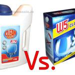 Detergent pentru masina de spalat vase Clean Maximo vs. W5 classic