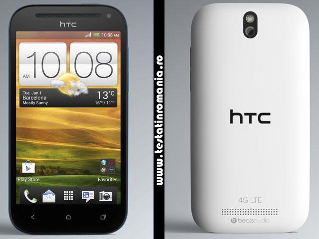 HTC One SV – combina viteza crescuta 4G LTE, o camera foto uimitoare de 5 megapixeli si sunetul de calitate cu design-ul uluitor, caracteristic HTC