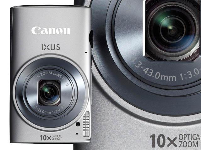Trei camere IXUS cu zoom mare si un nou model PowerShot fac parte din noua serie de aparate Canon