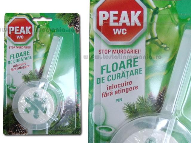 Peak WC 45 g- Floare de curatare, inlocuire fara atingere