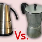 Presou cafea pentru aragaz vs. presou electric