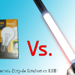 Bec vs. Corp de iluminat cu LED