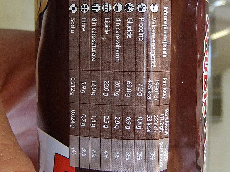 LU Pepito Disko valori nutritionale