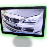 Monitor PHILIPS LED 247EL de 23,6 inci (58 cm) consum de doar 21 Wati