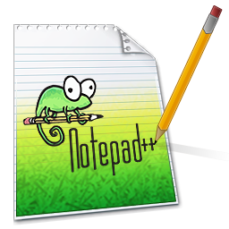 Adaugam text cu Notepad_++