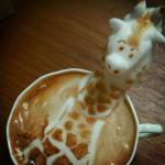 Arta 3D cu spuma de lapte in cafea