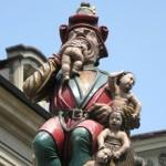 In Bern, Elveţia se află o statuie foarte inspăimântătoare!