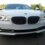 BMW 740 Li model 2014 lovit şi reparat!