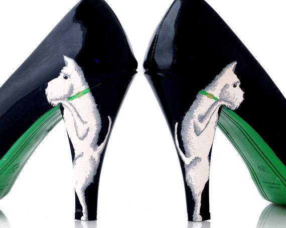 pantofi cu toc cu catel