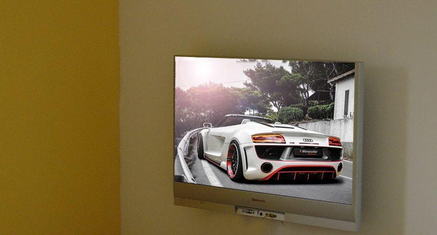 televizor prins de perete