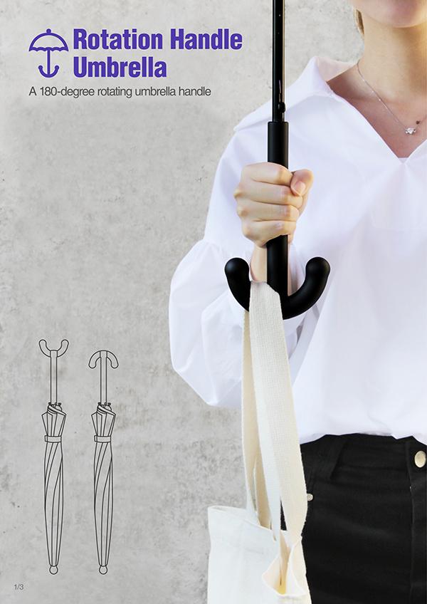 O umbrelă de mare ajutor, spre deosebire de cele clasice!