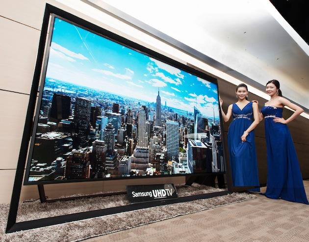 Cel mai mare Ultra HDTV din lume are o diagonală de 280 cm!