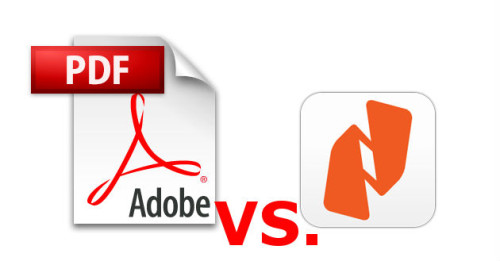 adobe reader vs nitro pdf