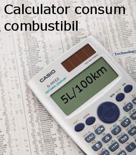 calculator consum combustibil
