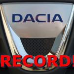 Record DACIA!