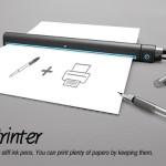 Cea mai subțire imprimantă din lume!