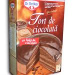 Tort de ciocolată de la Dr. Oetker