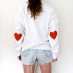 Un tricou de lucru care emană multă dragoste!