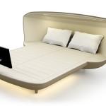 Cu acest pat îți vei transforma dormitorul într-unul de lux