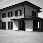 Casa SOLDATI este caracterizată de linii simple și lumina indirectă!