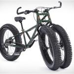 O bicicletă cât se poate de ciudată la prima vedere!