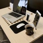 Biroul SlatePro pentru iPhone, iPad & Laptop Apple