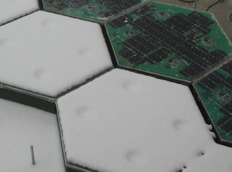 panouri solare pentru sosea