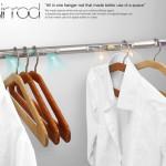 Cuier inteligent pentru haine curate și aerisite