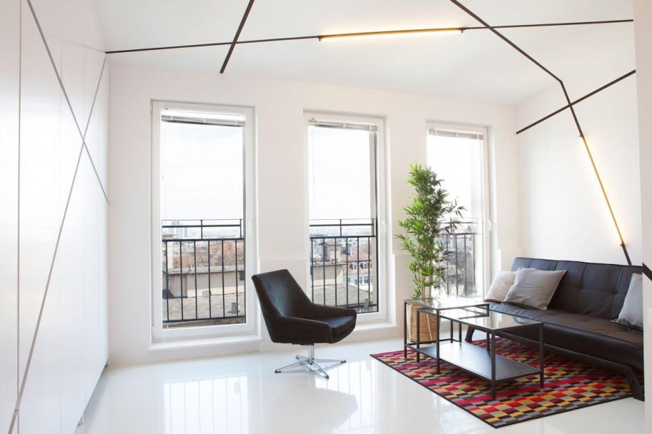 apartament cu o camera modern