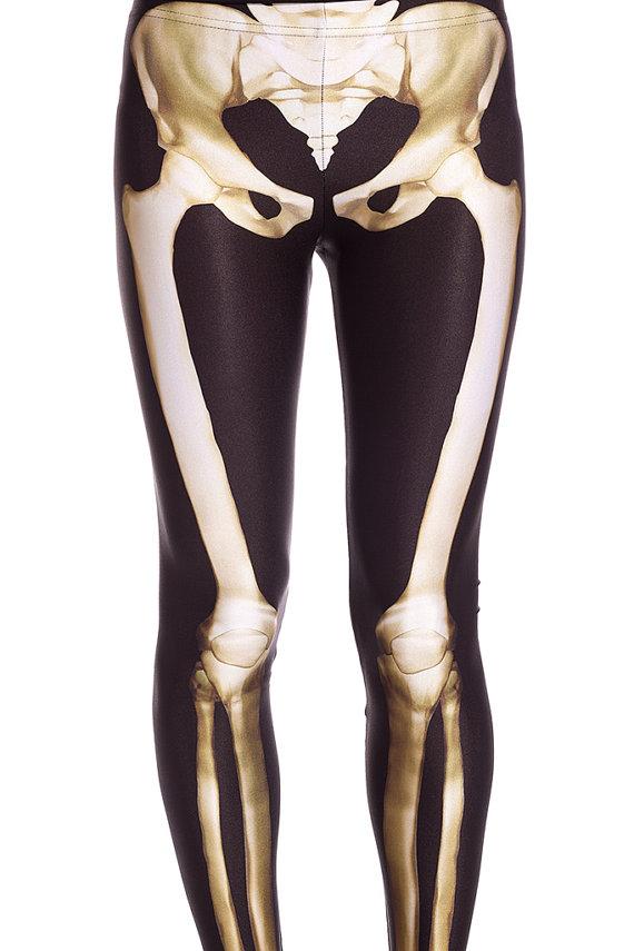 colanti cu radiografie, colanti cu scheletul picioarelor