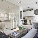 """Apartament în Stockholm cu dormitor """"transparent"""""""