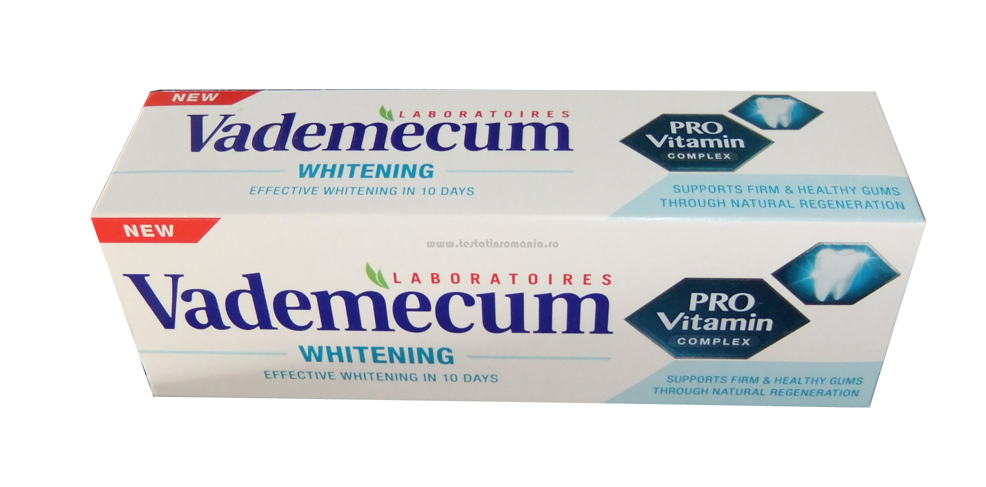 Pasta de dinți Vademecum PROVITAMIN WHITENING