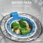 Waterpass, adună în siguranță resturile de mâncare din chiuvetă