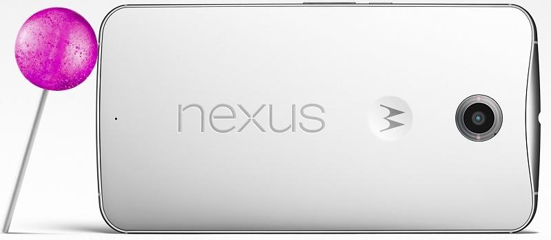 Nexus 6 vine cu sistemul de operare Android 5.0 Lollipop