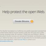 La cererea utilizatorilor, Mozilla acceptă donații în bitcoin