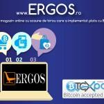Ergos.ro – primul magazin online care a integrat plata cu Bitcoin