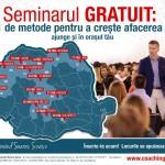 21 metode pentru a crește afacerea ta – seminar gratuit