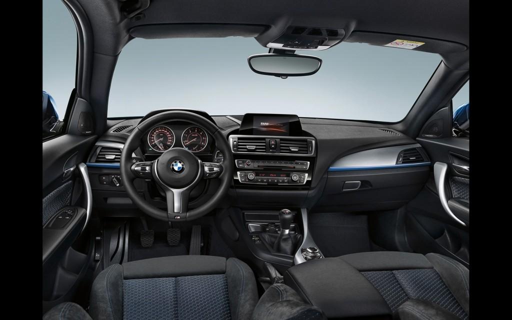 BMW seria 1 interior