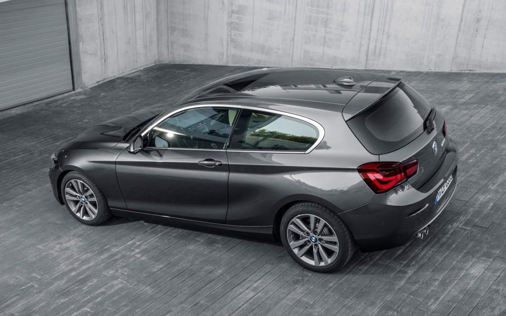 BMW seria 1 doua usi