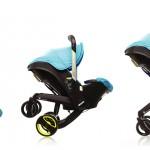 Scaun auto pentru copil și cărucior în același timp
