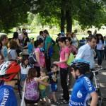 Copii cu dizabilități au simțit bucuria pedalatului!