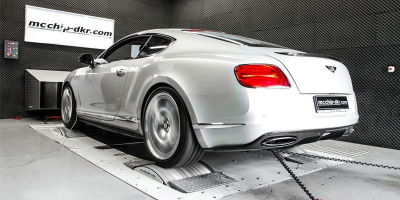 80 CP în plus pentru Bentley Continental GT de la mcchip-dkr.com