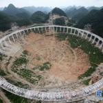 China construiește cel mai mare telescop radio din lume